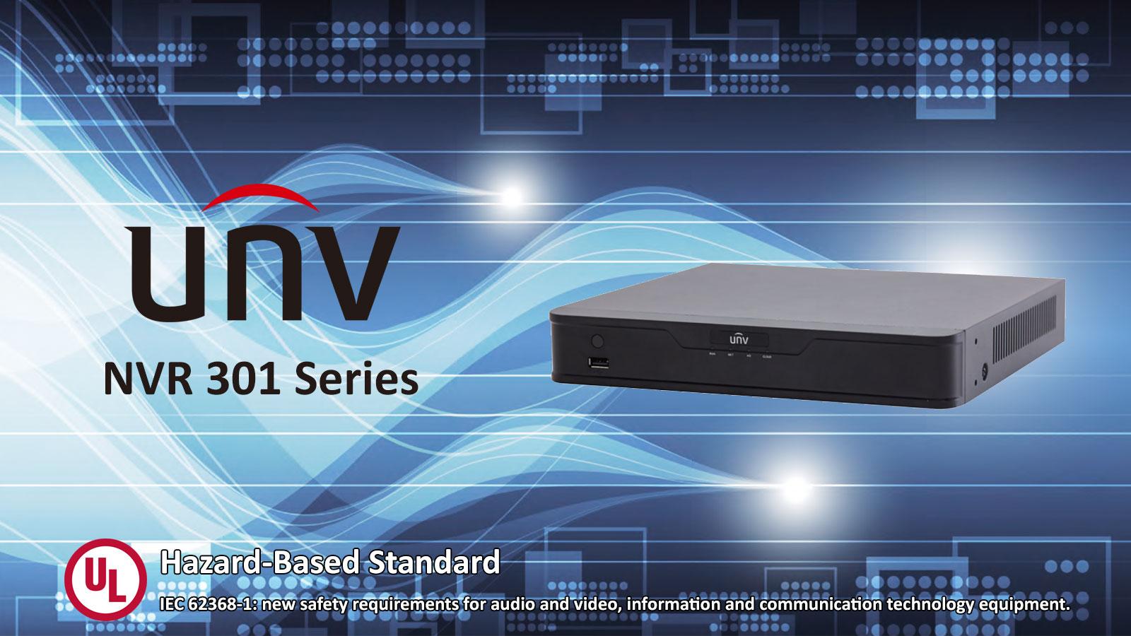 شرکت Uniview، برای اولین بار در کشور چین، بالاترین گواهی استاندارد امنیت را از کمپانی UL برای دستگاه NVR سری 301 دریافت کرد.