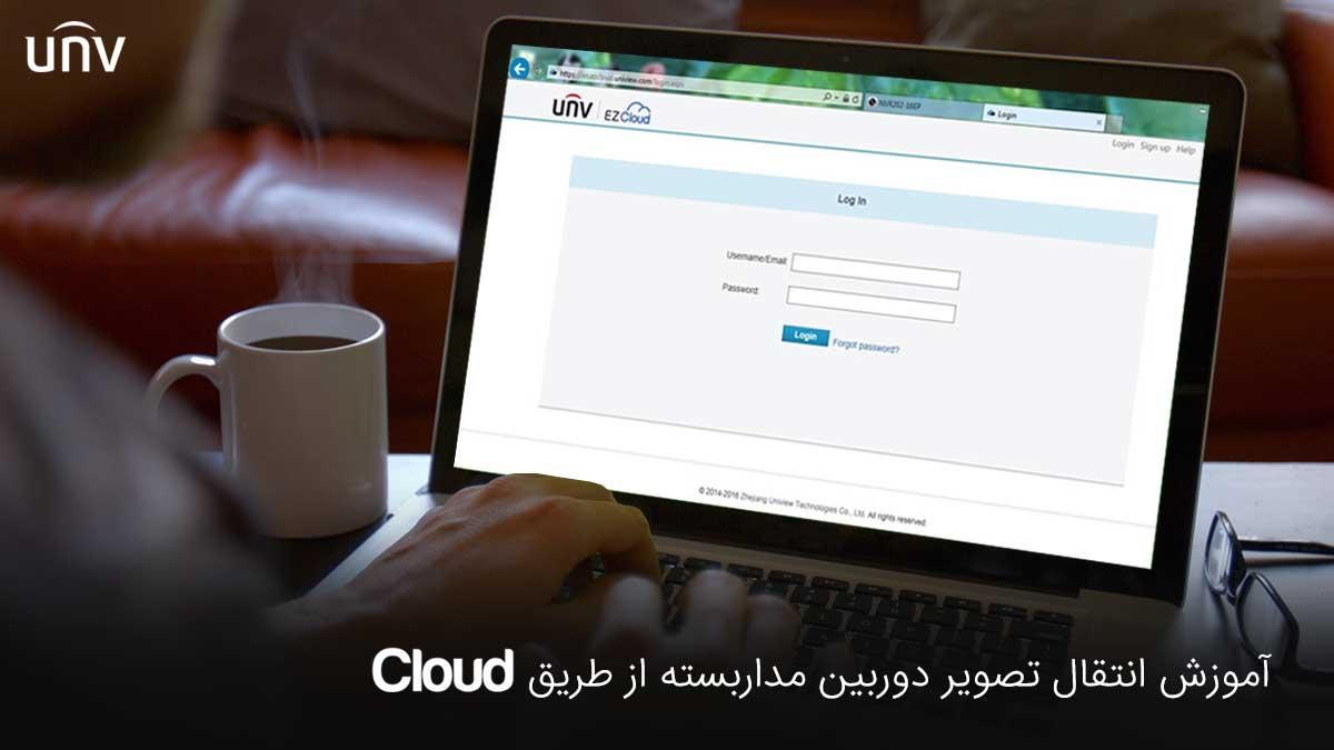 آموزش انتقال تصویر دوربین مداربسته از طریق Cloud