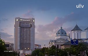 پروژه موفق Uniview نصب دوربین مداربسته در هتل InterContinental بخارست، رومانی
