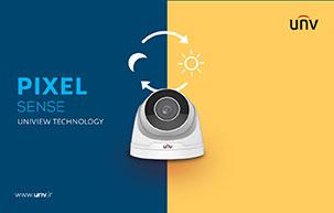 تکنولوژی PixelSense: تغییر حالت شب/روز دوربین مداربسته با تشخیص نور تصویر