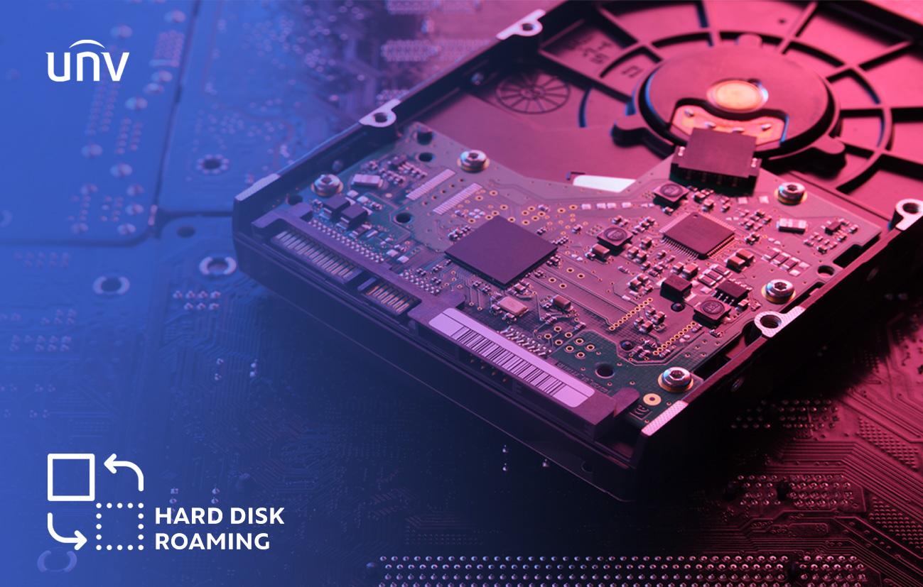 معرفی قابلیت Hard Disk Roaming (هارد دیسک رومینگ) دستگاه ضبط تصویر